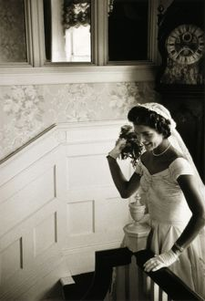 JACQUELINE KENNEDY (1929-1994). Wife of President John F