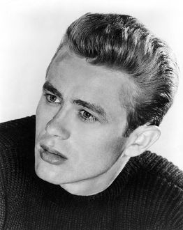 JAMES DEAN (1931-1955). American movie actor.