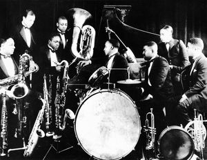 JAZZ MUSICIANS, c1925. The Sam Wooding Orchestra.