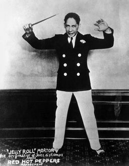 'JELLY ROLL' MORTON (1885-1941). Ferdinand Joseph La Menthe, commonly known