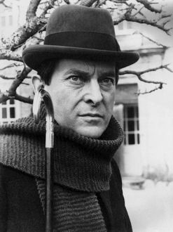 JEREMY BRETT (1935-1995). English actor. As Sherlock Holmes in 'The Hound of the Baskervilles
