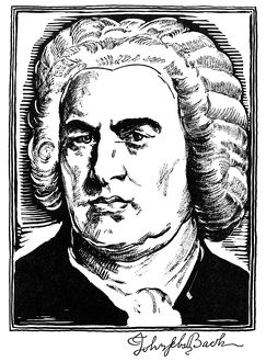 JOHANN SEBASTIAN BACH (1685-1750). German organist and composer