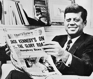 JOHN F. KENNEDY (1917-1963). 35th President of the United States