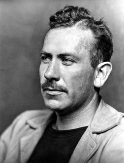JOHN STEINBECK (1902-1968). American writer, photographed in 1940.