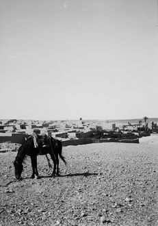 JORDAN: MA'AN, c1910. A view of Ma'an, Jordan. Photograph, c1910