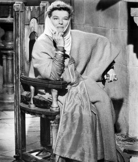 KATHARINE HEPBURN (1907-2003). American actress. As Eleanor of Aquitaine in 'The Lion in Winter