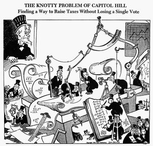 world war ii/the knotty problem capitol hill finding way raise