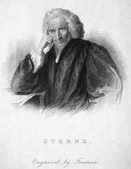 LAURENCE STERNE (1713-1768). English cleric and novelist