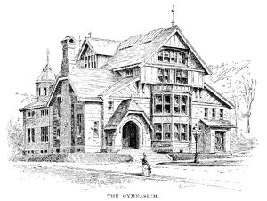 LEHIGH UNIVERSITY, 1888. The gymnasium at Lehigh University in Bethlehem, Pennsylvania