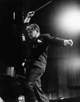 LEONARD BERNSTEIN (1918-1990). American composer and conductor