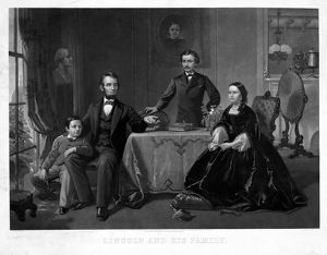presidents/lincoln family president abraham lincoln sons