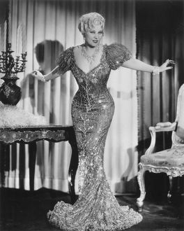 MAE WEST (1892-1980). American actress.