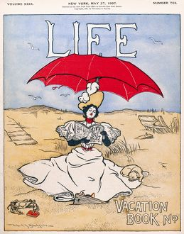 MAGAZINE: LIFE, 1897. 'Life' magazine cover, 27 May 1897.