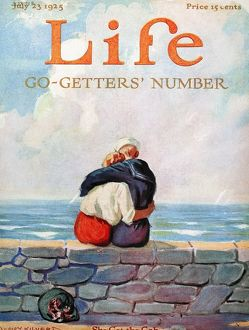 MAGAZINE: LIFE, 1925. 'Life' magazine cover, 23 July 1925.