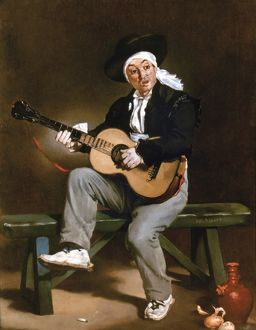 MANET: GUITARERO. 'The Spanish Singer' or 'The Guitarero' by Edouard Manet