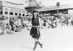 MARGARET GORMAN, 1921. First Miss America at Atlantic City in 1921.