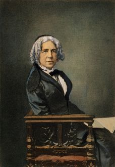 MARIA MITCHELL (1818-1889). American astronomer
