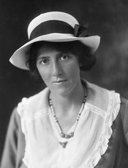 MARIE STOPES (1880-1958). English paleobotanist and birth-control advocate.