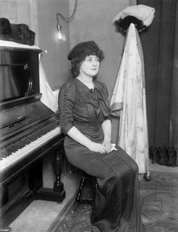 MARY GARDEN (1874-1967). Scottish-American soprano. Photograph, c1910.