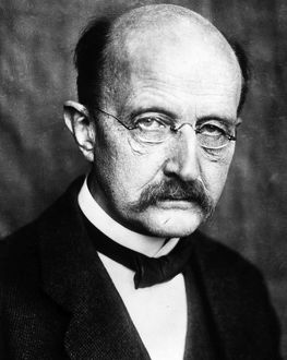 MAX PLANCK (1858-1947). German physicist. Photographed 1929.