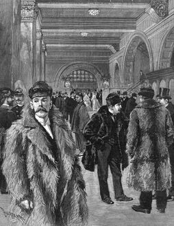 MEN'S FASHION, 1893. 'A Study in Overcoats
