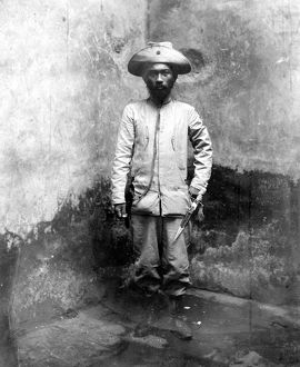 MIGUEL MALVAR (1865-1911). Philippine insurrectionary leader photographed in 1902.