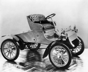 MODEL A FORD, 1903. The first automobile produced by the Ford Motor Company, the Model 'A&#39