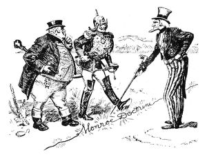 MONROE DOCTRINE CARTOON