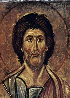 MOSES. Detail of late 13th century icon in Saint Catherine's Monastery, Sinai.