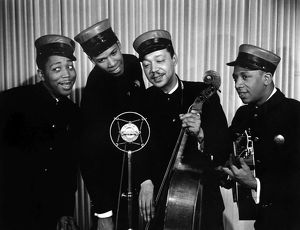 MUSIC: THE INK SPOTS. Popular American vocal group of the 1930's and 1940's.