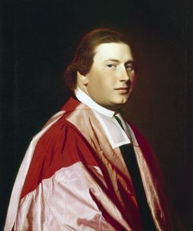 MYLES COOPER (1735-1785). Anglican priest and founder of King's College in New York