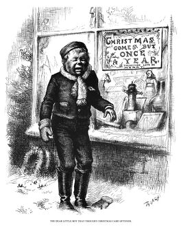 NAST: CHRISTMAS, 1881. 'The Dear Little Boy That Thought Christmas Came Oftener