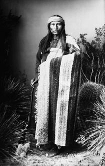 NATCHES (c1856-1919). Also known as Naiche. Son of Cochise and chief of the Chiricahua Apaches