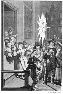 NETHERLANDS: TWELFTH NIGHT. 'The King's Star walked or carried in Amsterdam