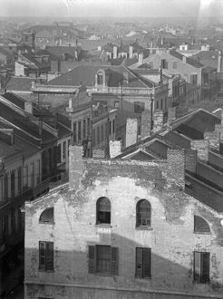 NEW ORLEANS, c1925. A view of the rooftops of buildings on Royal Street in New Orleans