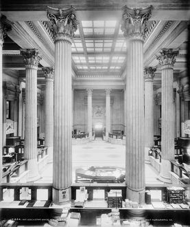 us cities/new orleans customs house interior view us