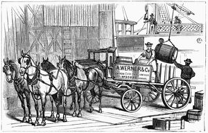 NEW YORK: WINE INDUSTRY. Exporting American wine produced by Werner and Company