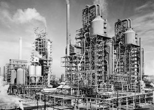 Three oil refinery units in Louisiania, which use the process of 'cracking,&#39