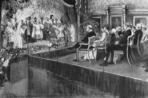 OPERA: LOHENGRIN, 1899. The Covent Garden Opera Company performing 'Lohengrin'