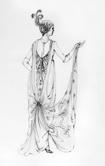 fashion/operetta costume design theoni v aldredge 1974