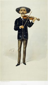 PABLO de SARASATE (1844-1908). Spanish violinist and composer