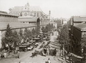 PARIS: LES HALLES, c1900. Photograph, c1900.