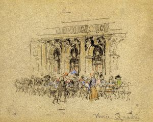 whats new b/pennell venice c1901 venice quadri crowd