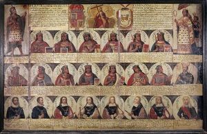 PERU: ROYAL CHRONOLOGY. Succession of the rulers of Peru, beginning with the Inca