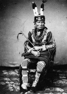 PETALESHARO II (1823-1874). Also known as Man Chief