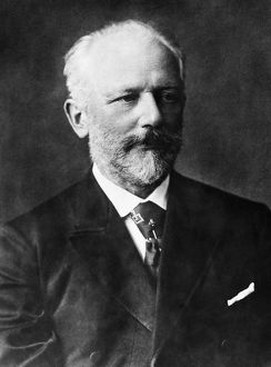 PETER ILICH TCHAIKOVSKY (1840-1893). Russian composer.