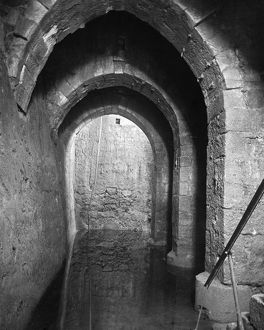 POOL OF BETHESDA. The Pool of Bethesda in Jerusalem. Photograph, early 20th century.