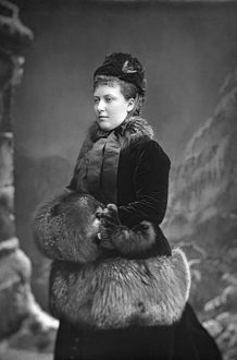 PRINCESS HELENA (1846-1923). Princess Christian of Schleswig-Holstein. Photograph by W