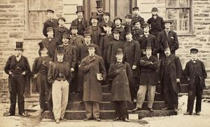 PRINCETON UNIVERSITY, 1861. Princeton class of 1865, photographed as freshman in 1861