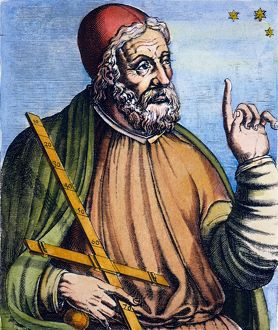 PTOLEMY (2nd CENTURY A.D.). Alexandrian astronomer, mathematician and geographer